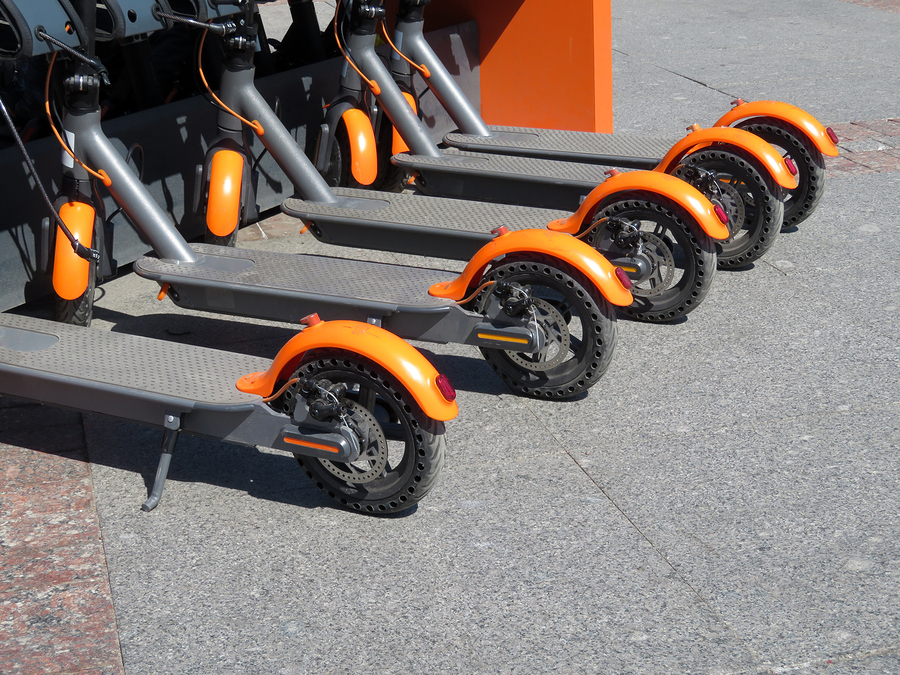 5 Electric Scooters